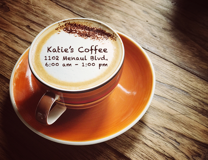 Katie's Coffee Poster